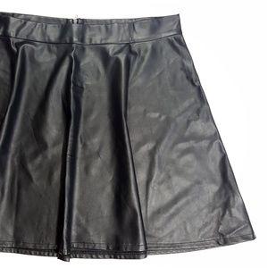 Torrid Faux Leather Skater Skirt Size 22